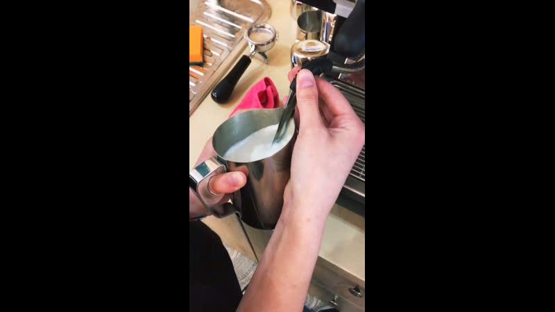 Первая чашечка кофе ☕️