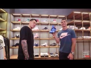 Cristiano Ronaldo выбирает Air Jordan 4 Cactus Jack