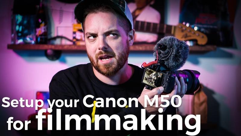 Setup your Canon M50 for better Filmmaking