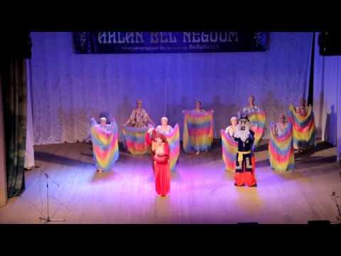 AHLAN BEL NEGOOM-2018GALA SHOW!СВТ Сауле(Новосибисрк) Шоу