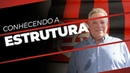 ABEL BRAGA VISITA O NOVO MODULO DE FUTEBOL PROFISSIONAL DO FLAMENGO
