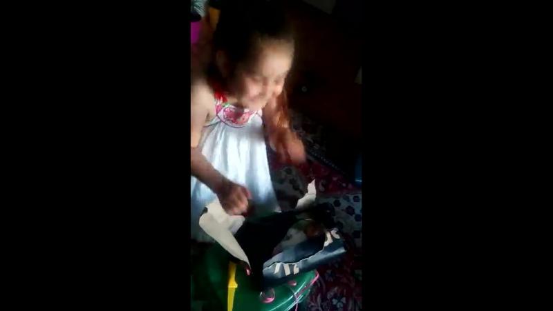 дочка в день рождения