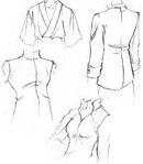 Как нарисовать рисунок школьной одежды Сайт о рисовании.