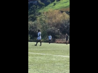 March 17: Another video of Justin playing soccer in Playa Vista, California.