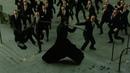 Нео Против Агентов Битва на Площади Эпичный Момент Матрица 2 Перезагрузка 2003 Момент из Фильма