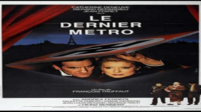 1980 L' ultimo metrò Catherine Deneuve Gérard Depardieu Andréa Ferréol Jean Poiret Paulette Dubost
