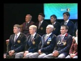 Церемония чествования победителей, призеров и участников Олимпийских игр» 1 часть
