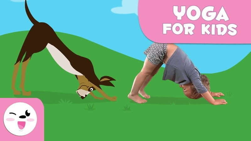 Yoga for kids with animals - Smile and Learn