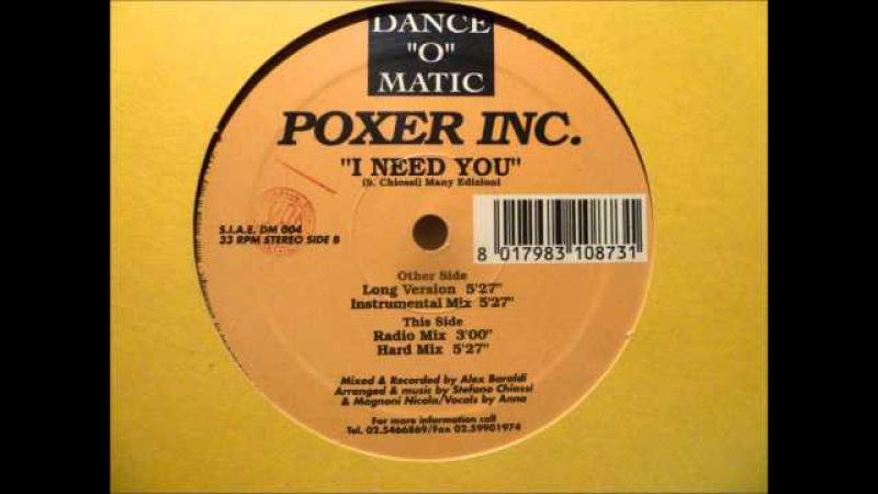 Poxer Inc I Need You
