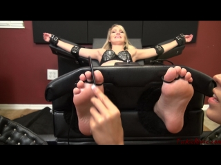 TickleAbuse - Maia ToeTied