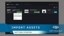 How to import existing projects and assets   Getting Started