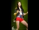 FANCAM 090911 Krystal LA chA TA Rehearsal Music Bank