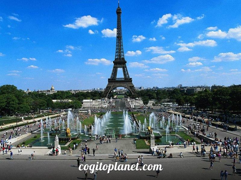 Франция: Самая большая панорама Парижа