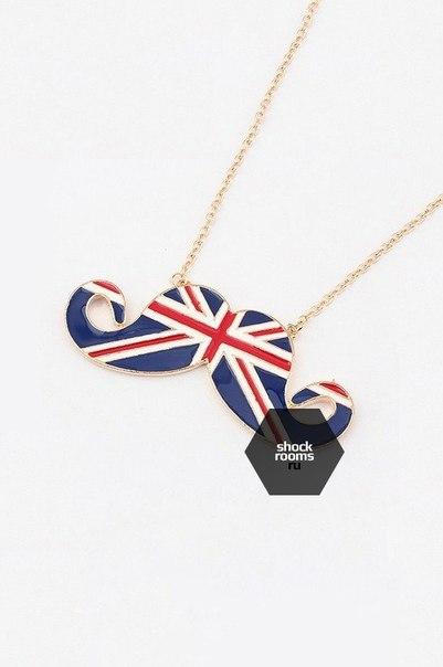 телефон с британским флагом