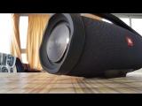Jbl boombox-bass test 100