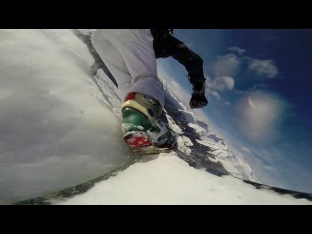 Snowboard carving %tiefschnee%, 2014