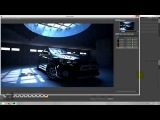 Speed Art Cinema 4D Vray Mitsubishi Evolution x black