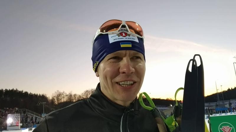 Андрей Дериземля, интервью после победы в масс-старте на Гонке легенд-2019