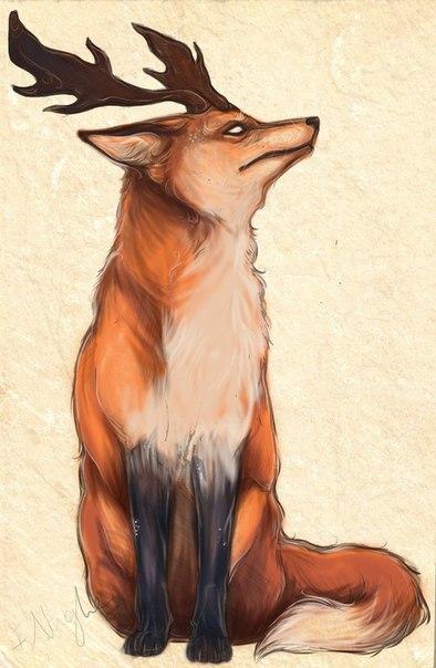 рогатые лисы