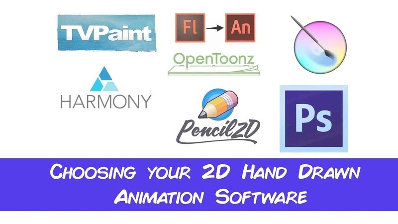 Choosing Your 2D Hand Drawn Animation Software