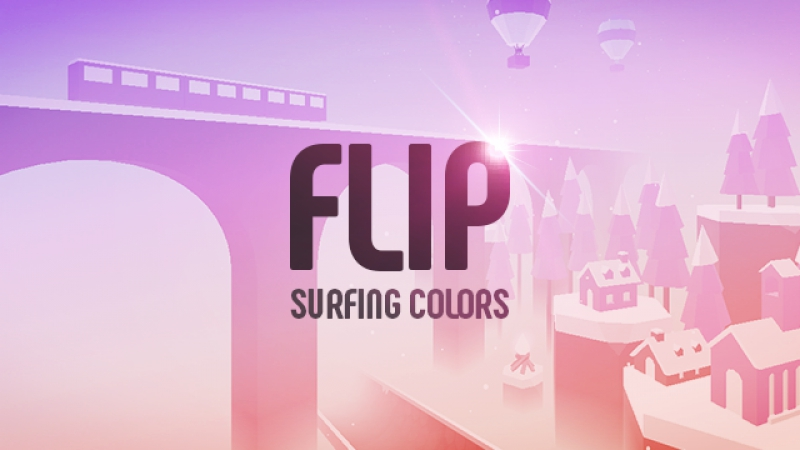 Flip Surfing Colors iOS Android