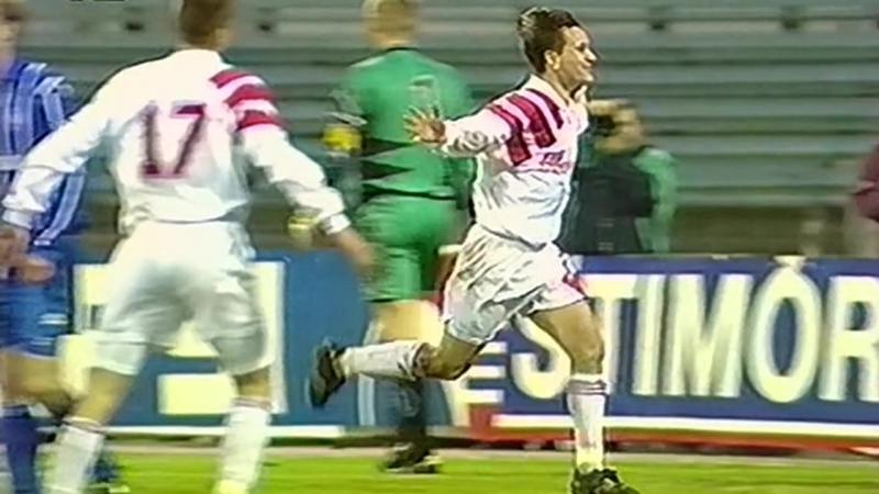 1996 - Гол Дмитрия Аленичева в ворота московского Динамо (3:1)