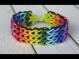 Набор Rainbow Loom для плетения браслетов из резинок с металлическим крючком