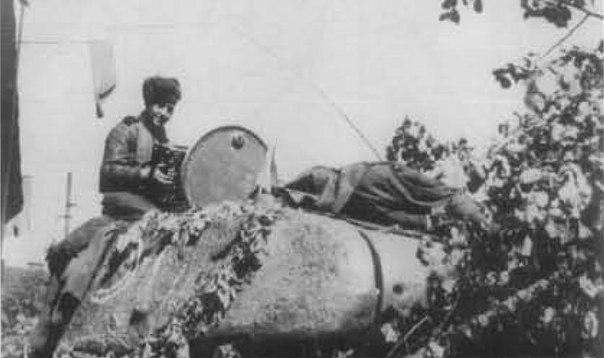 Т-34-85 7-го гв. тк