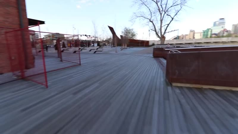 Inline skating (rollerblading) team skating