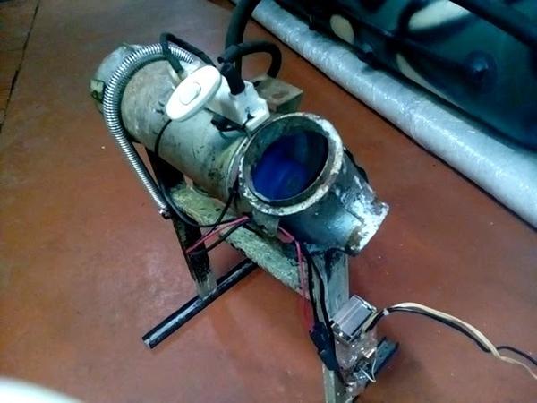 Отопитель ШААЗ-015. Печка ЗАЗ на газу. Электронный розжиг.