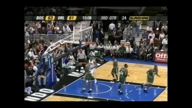 Tracy McGrady vs Celtics. 44 pts 16.01.2004