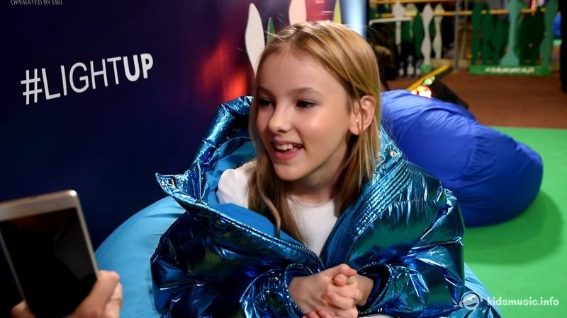 Интервью с Данэлией Тулешовой на Детском Евровидении Здесь чувствуешь себя настоящим артистом