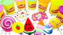 PlayDoh Show. Wir machen aus Knete Eis. Spielzeugvideo