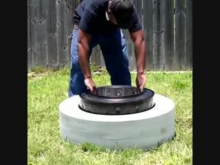 Что можно сделать из барабана стиральной машины?