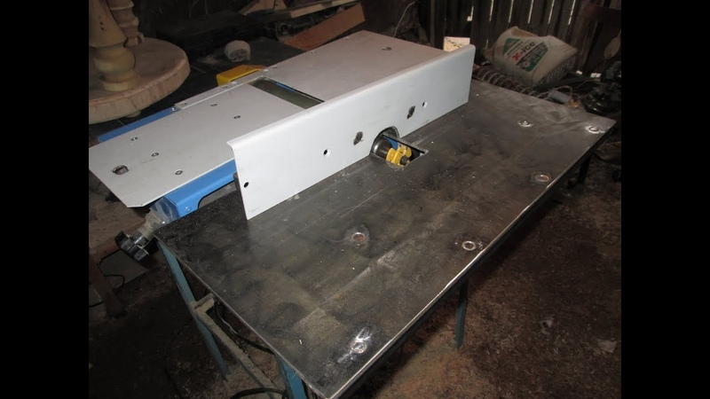 Как сделать фрезерный станок из циркулярки (фуговального станка).