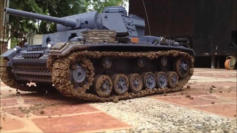 World of tanks panzer III ausf. L 116 rc tank henglong