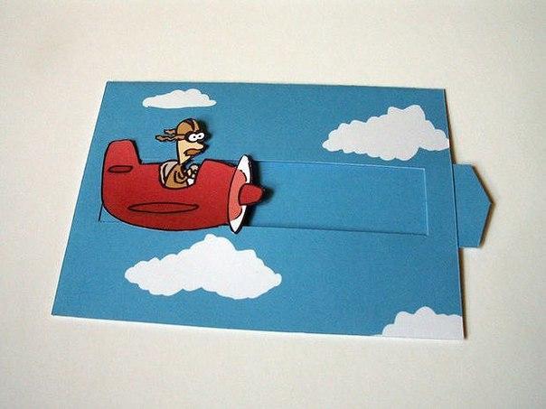 Выдвижная открытки своими руками