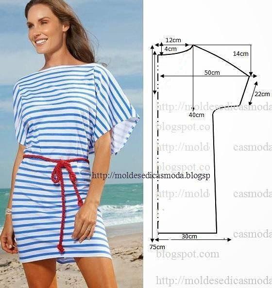 Сшить платье летнее своими руками