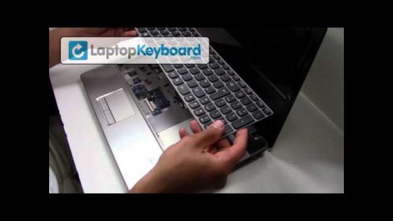Lenovo Ideapad Keyboard Installation Z570 B570 Guide - Remove Replace Install Pavilion Laptop Z560