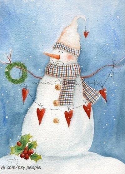 Я люблю, когда Зима приходит, И кружится белый мягкий снег. Из души тревоги все уходят, Верится, не будет больше бед. Я люблю, когда снежинки на ладошке, Нежные, как ангелов перо, В сердце возвращается надежда, На душе становится светло. Я люблю, когда так тихо ночью, За окном мороз. И все же мне тепло. Знаю я, что мне Зима пророчит — Просто верь, все будет хорошо!