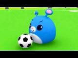 Мультфильмы для Детей - Руби и Йо-Йо - Футбол