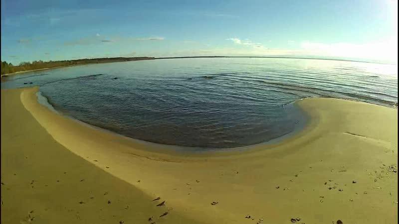 Дыхание пляжей Андомы и быт. парапланериста.
