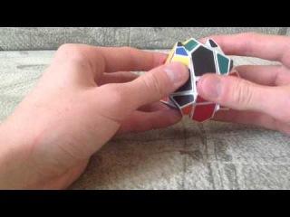 Головоломка Oblique Rotation, Двенадцатигранник Рубика. Обучение сборки.