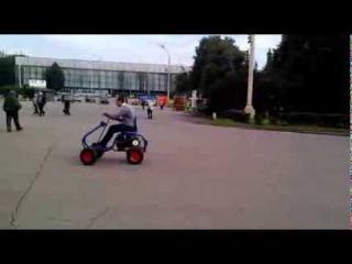 Мини-трактор на базе Мотоблока Агат