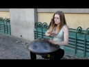 Great Street Music in Prague The Hang Instrument Steel Pan Old Town Square