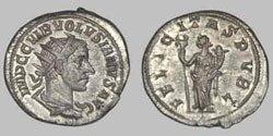 Древнеримские женщины-богини, монеты, Фелицитас