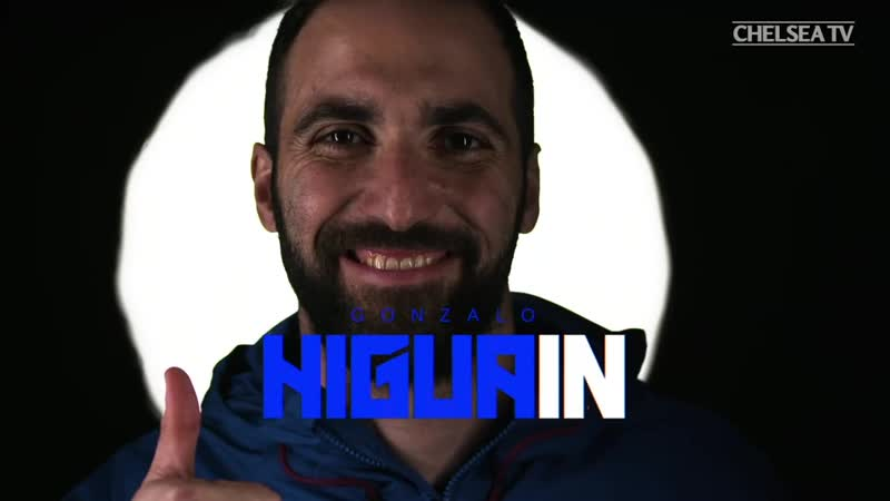 Welcome to London and welcome to Chelsea, Gonzalo Higuain! 🙌