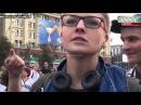 Майдауны в Харькове лижут жопу кровавому Обаме 18 08 2014
