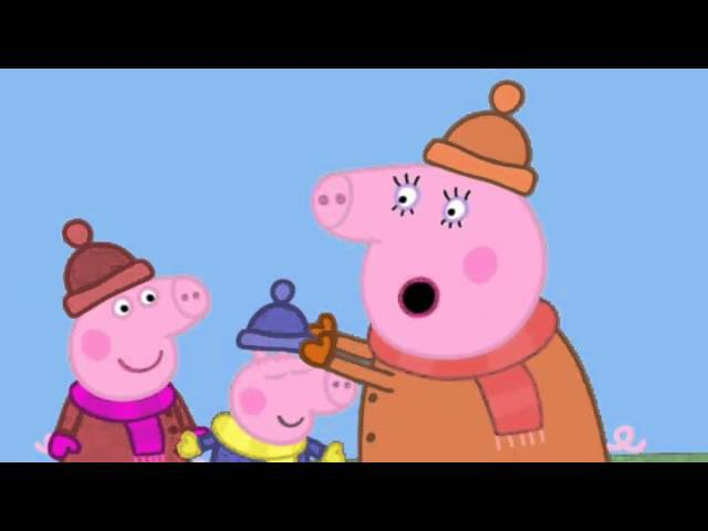 Peppa Pig Series 2 Episode 08 Windy Autumn Day
