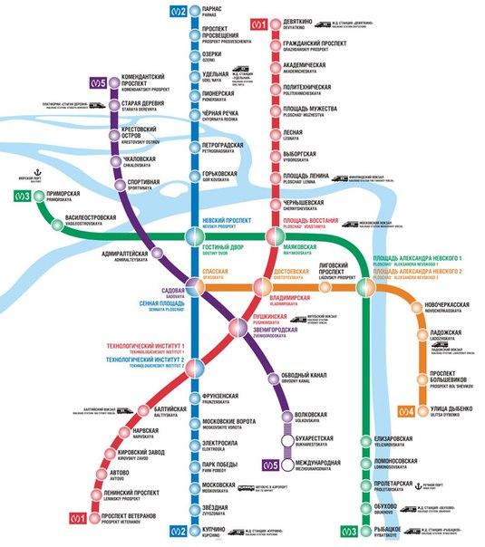 Дизайн схемы метро Санкт-Петербурга. сайте Петербургского метрополитена. которая появилась в нынешнем марте на...
